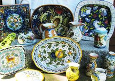 Tuscany Pottery Dinnerware & Plates | Tuscan Pottery Dinnerware, Tableware, Platters and Bowls | The Pottery Co.