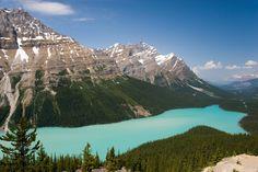 Peyto Lake, Alberta, Canada by Jan Zoetekouw on 500px