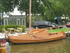 Dutch Scow Sloop from Chapelle's Boatbuilding