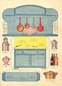 Vintage paper toys I. - mania 999 - Picasa Albums Web