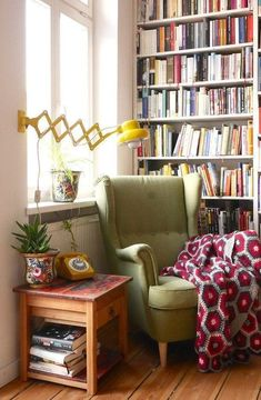 Design a reading corner in your house,Sometimes, all you need in life is a comfy chair to snuggle into and a good book. Check out my simple interior design tips to create your very own rea. Decor, Home, Cozy House, Cheap Home Decor, House Interior, Home Deco, Comfy Chairs, Home Interior Design, Interior Design