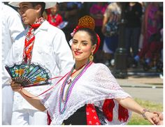 Dancer from the Mexican Independence Day Celebration in Old Mesilla, New Mexico.