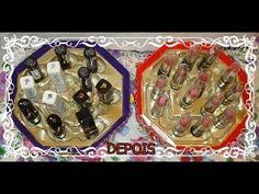 ✿Meu porta Batons, feito com caixinha de Chocolate✿ por Priscila Rien