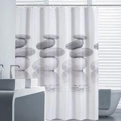 Mildew Water-Repellent Shower Curtain