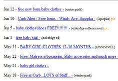 ... of Free Stuff on Craigslist: Browse Through Craigslist Free Stuff