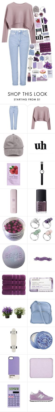 """☆m a y b e t h i n g s w i l l g e t b e t t e r☆"" by amazingavocado ❤ liked on Polyvore featuring Topshop, Chicnova Fashion, WALL, H&M, Rosendahl, NARS Cosmetics, Christy, Korres, Jil Sander Navy and The Body Shop"