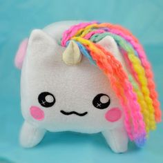 Meet Bruce <3 Hes the sweetest ,fluffiest unicorn out there!  READY TO SHIP!!    ♥ ITEM DESCRIPTION ♥  This listing is for 1 Bruce, the unicorn, the one