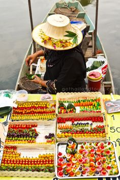 The Floating Market of Damnoen Saduak is one of the most popular attractions in the greater Bangkok area.