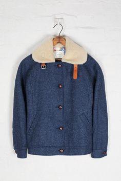 Colenimo Shetland Wool Racer Jacket