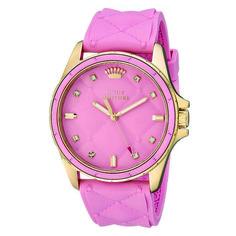 Relógio Juicy Couture Feminino Borracha Rosa- 1901244
