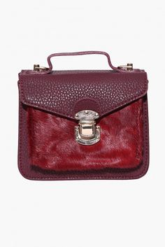 Theo Satchel in Burgundy | Necessary Clothing
