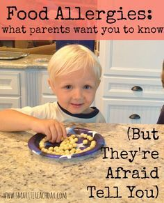 This is MUST-READ these days. If you don't know someone with food allergies you will! What to say how to help even play-date and party tips. Specific grace-filled humorous tips for loving those you meet who have food allergies. Tree Nut Allergy, Peanut Allergy, Banana Allergy, Dust Allergy, Egg Allergy, Allergies Alimentaires, Family Deal, Nut Allergies, Allergy Free Recipes