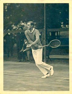 Bill Tilden - American tennis player. He is often considered one of the greatest players of all time.