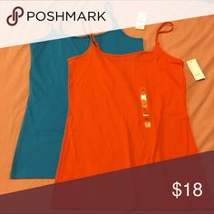 LOFT set of 2 NWT camisoles 2 new with tags camisoles. Both size medium. LOFT Tops Camisoles