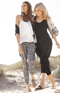Capri Collection | Missouri pants | Putiikki Rannalla Missouri, Capri Pants, Collection, Fashion, Capri Pants Outfits, Moda, Capri Trousers, Fasion, Trendy Fashion