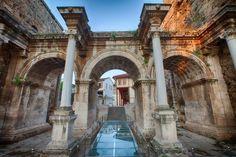 Historcal Antalya, Turkey. I'd love to wander amongst these ruins!