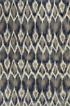 Pinned from RugLots - Kas // Suzani Shag Horizon Ivory Grey Allure Modern Kas Rug (4057)