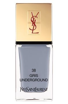 YSL Gris color, a must for this fall! #nailart #ysl #fallstyle #beauty