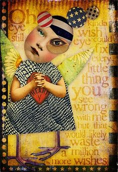 Wasted wishes collage by Marsha Collages, Mixed Media Collage, Collage Art, Collage Ideas, Mix Media, Moleskine, Paper Toy, Magazine Collage, Graffiti Artwork