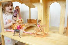 Horse Swing, Play Horse, Wooden Gifts, Wooden Toys, Wood Rocking Horse, Eco Friendly Toys, Wooden Dollhouse, Ride On Toys, Dollhouse Accessories