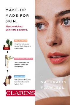 Our plant powered primer gives your skin a deliciously smooth finish, filling in lines, pores and deep wrinkles. Plant enriched, skin care powered. Alexa Enabled Devices, Volume Mascara, Illusions, Make Up, Smooth, Skin Care, Zodiac, Plant, Deep