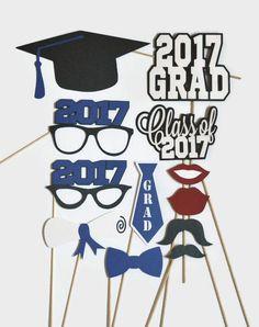 Apoyos de la cabina de la foto de graduación  conjunto de 12