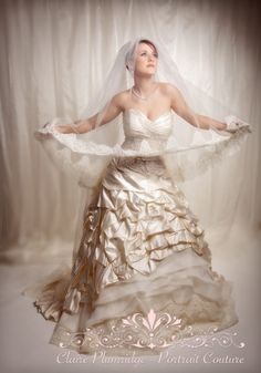 9. Wedding Dresses -commercial studio shoot