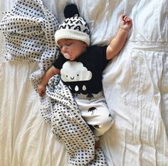 XO Muslin Swaddle Blanket | Black and White | Monochrome Baby | by Modern Burlap