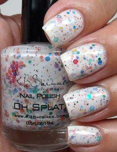 KB Shimmer Nail Polish- Oh Splat