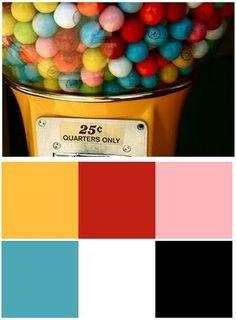 Color + gumballs