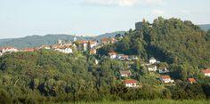Lindenfels die Perle des Odenwaldes von der Höhe aus in Lindenfles Winkel zu sehen. http://www.schaff-raum.de/lindenfels-im-odenwald/  #Lindenfels #hessentag #Odenwald #Winkel