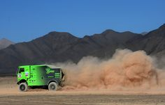 Marek Spail of Liaz competes in stage 12 from Fiambala to Copiapo during the 2013 Dakar Rally on January 17, 2013 in Fiambala, Argentina.
