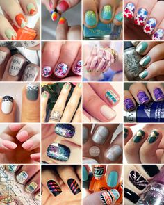 Nails to DIY for: 20 Trendy Tutorials | Brit + Co.