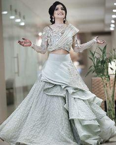 Bridal dresses, Indian Bridal Dresses, Pakistani Bridal Dresses, Latest Bridal d. Indian Wedding Gowns, Indian Gowns Dresses, Indian Bridal Outfits, Pakistani Bridal Dresses, Indian Fashion Dresses, Indian Designer Outfits, Designer Dresses, Designer Wear, Bridal Gowns