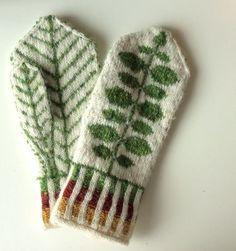 Knitting Patterns Mittens Ravelry: Ingridheim City& Bersåvott to Marit Mittens Pattern, Knit Mittens, Knitted Gloves, Knitting Socks, Knit Or Crochet, Crochet Hats, Knitting Projects, Knitting Patterns, Motif Fair Isle