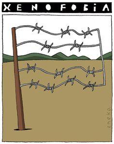 Xenofobia.