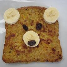 French Toast Bär #kids #rezept