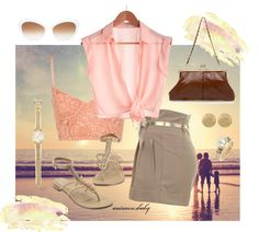 """""""Walk On The Beach"""" by autumnsbaby ❤ liked on Polyvore"""