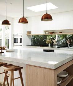 151 simple kitchen decoration in small house page 5 Home Decor Kitchen, Kitchen Living, New Kitchen, Home Kitchens, Kitchen Grey, Modern Kitchens, Kitchen Tops, Kitchen Backsplash, Kitchen Ideas