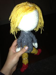 First amigurumi doll - crochet