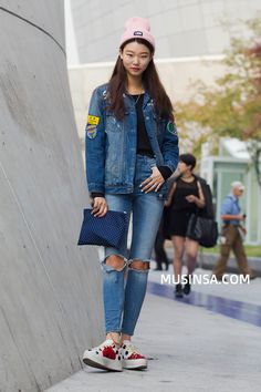 Korean Street Fashion October 2015       Location: Seoul                                                                           ...