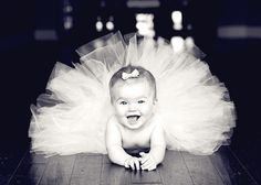 Awwww how adorable!!!!! A baby ballerina!!! This will be my child.