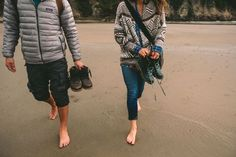 Sometimes you gotta go barefoot.