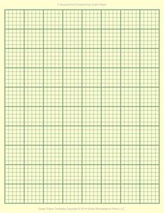 A4 Graph Paper Template PDF, 5mm squares, 210×297 mm | Templates ...