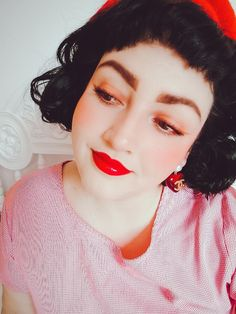 /June 2020/. #laviniafenton #blessthegodandthegoddesswithin #portrait #red Disney Characters, Fictional Characters, Snow White, June, Disney Princess, Portrait, Red, Men Portrait, Sleeping Beauty