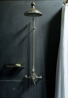 Exposed thermostatic shower