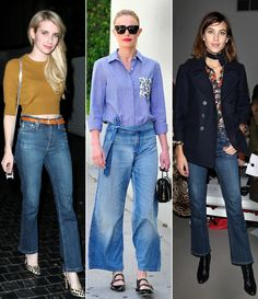 Shop 10 pairs of cropped flared jeans you can wear now and into fall.