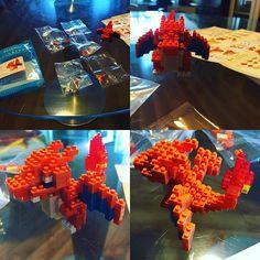 #リザードン #ナノブロック #ブロック  #ポケモン  #lizardon #nanoblock #block #toy #pokemon
