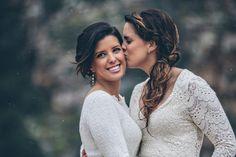 AZ Mountaintop Lesbian Wedding by Steph Grant Photography