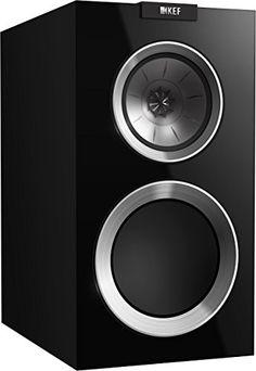 KEF Bookshelf Loudspeaker Gloss - Home Theater Systems Home Audio Speakers, Bookshelf Speakers, Wireless Speakers, Bookshelves, Home Theater Speaker System, Ceiling Speakers, Audio Headphones, Amazon Products, Loudspeaker